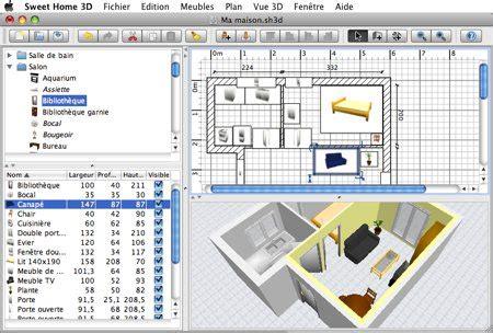 telecharger home design 3d mac gratuit sweet home 3d logiciel de d 233 coration pour mac