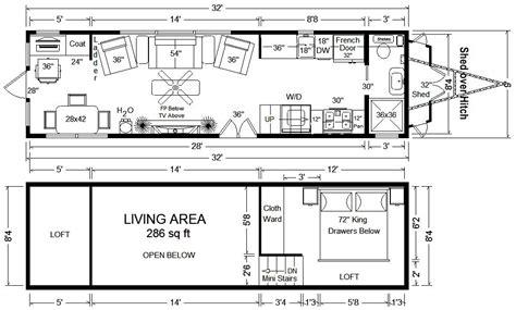 tiny home floor plans tiny house floor plans 32 tiny home on wheels design