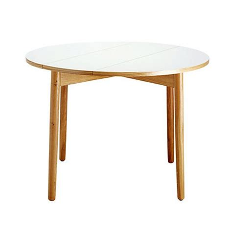 folding kitchen table suki white folding table from habitat small kitchen