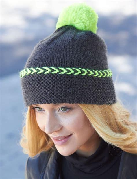 knit hats for city chic winter hat allfreeknitting