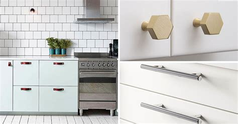 modern hardware for kitchen cabinets 8 kitchen cabinet hardware ideas for your home contemporist