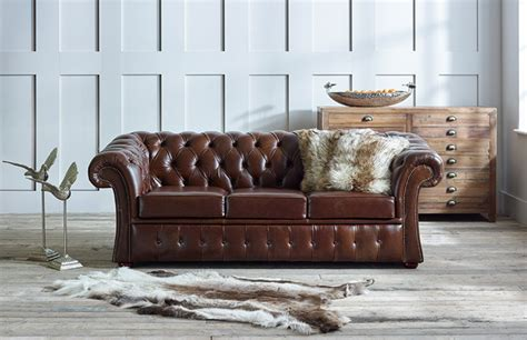 traditional leather sofas gladbury traditional leather sofa chesterfield company
