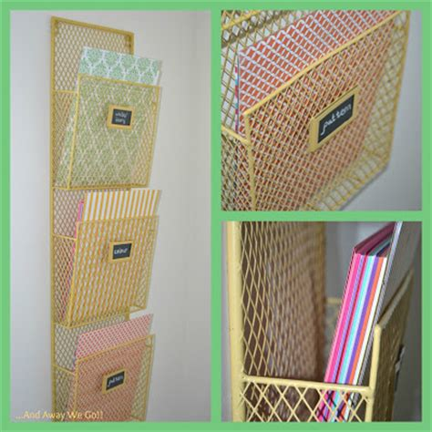 organizing craft paper and away we go organizing craft supplies card stock