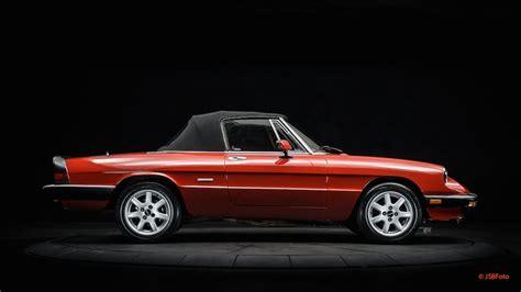 Alfa Romeo Graduate For Sale by Purchase Used 1990 Alfa Romeo Spider Graduate Convertible