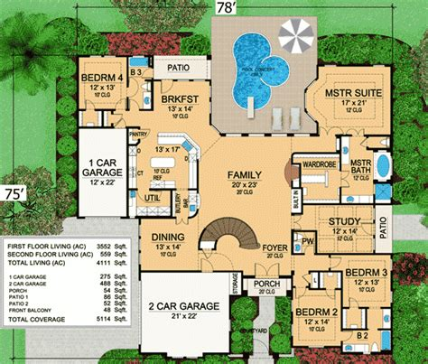 mansion home plans plan w36105tx mini mansion e architectural design