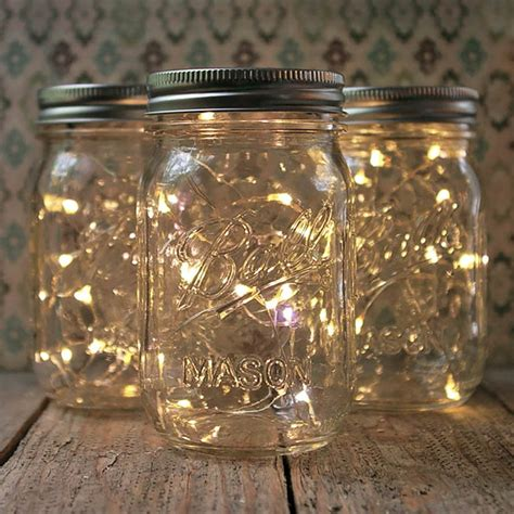 jars light jar lights pint small warm white set of 3