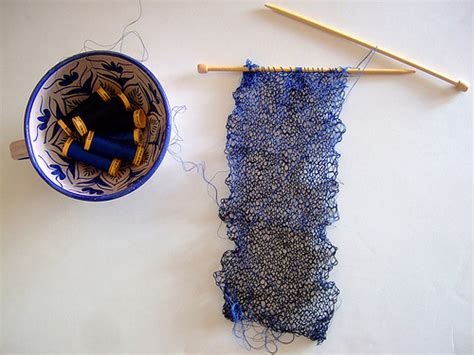 knitting with sewing thread blues knitting with sewing thread annekata