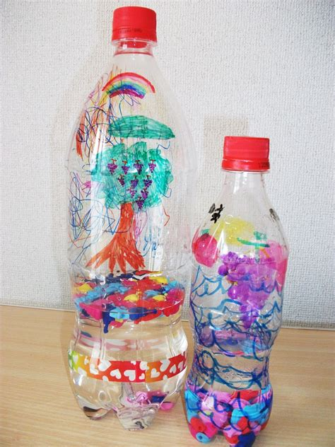 water bottle crafts for water bottle shaker craft preschool crafts for