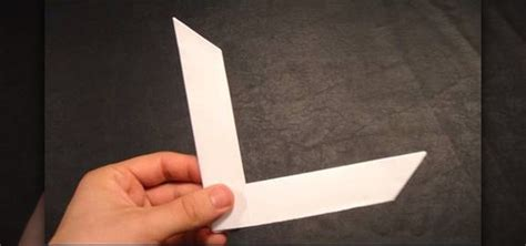 how to make a boomerang origami how to make an origami boomerang 171 origami wonderhowto