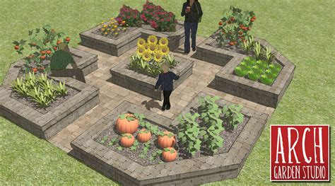 garden design layouts raised bed vegetable garden layout plans
