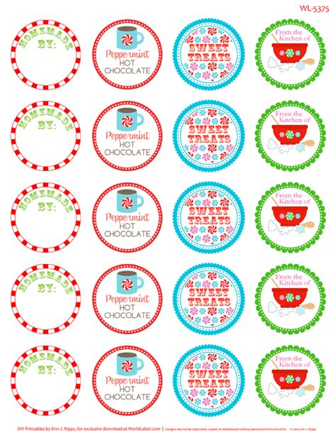 printable christmas labels avery new calendar template site