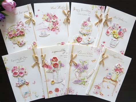how to make a beautiful greeting card stock handmade happy birthday greeting cards blessing