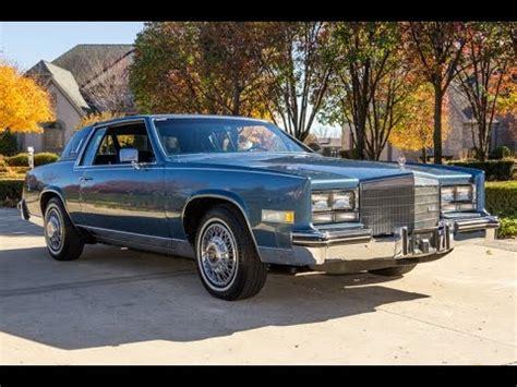 85 Cadillac Eldorado For Sale by 1985 Cadillac Eldorado For Sale