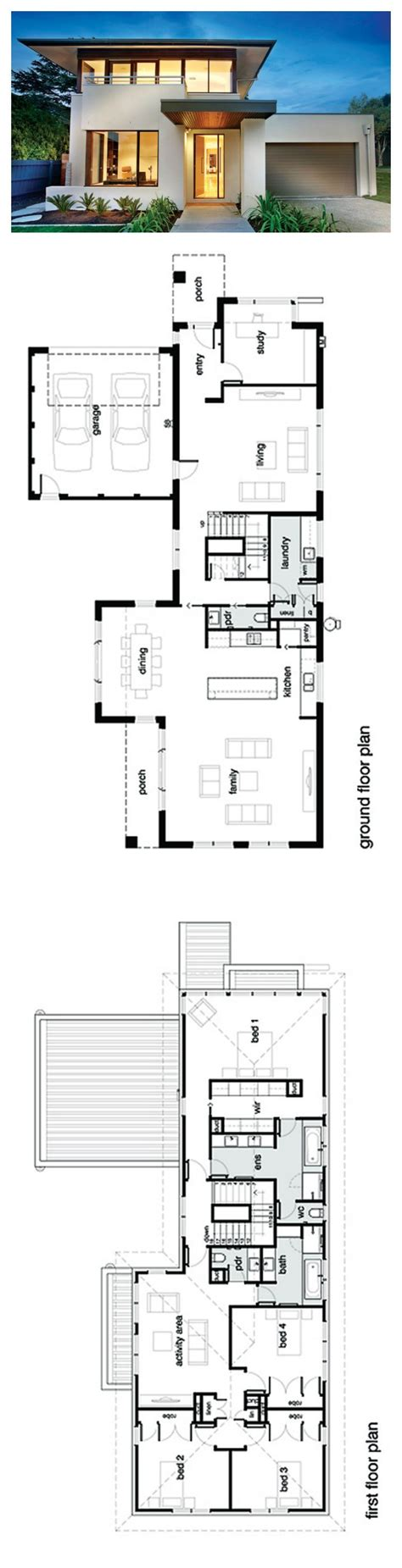 best 25 modern house plans ideas on modern
