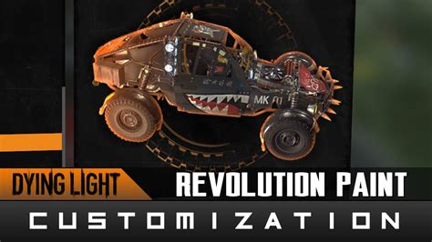 glow in the paint dying light dying light the following revolution paint location