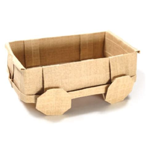 How To Make A 3d Origami Wagon Page 1