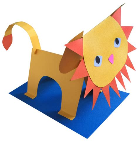 3d construction paper crafts 3d paper sculpture projects and craft