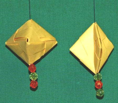 hanging paper crafts funezcrafts easy paper crafts folded box ornament