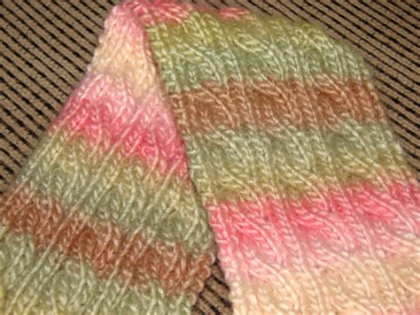 reversible cable scarf knitting pattern knitting patterns galore palindrome a reversible cable