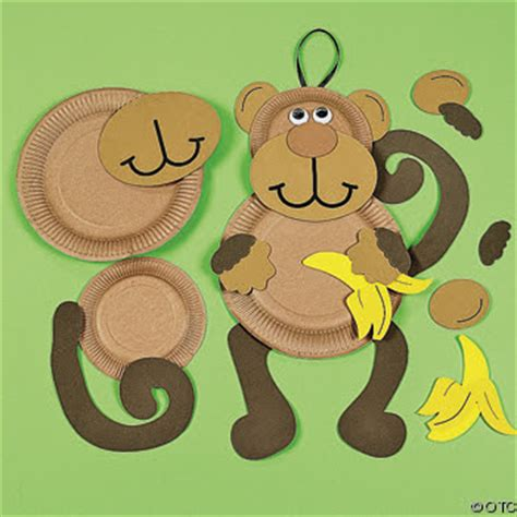 monkey crafts for we being letter m monkey