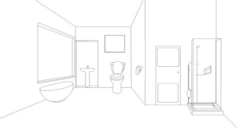 bathroom drawing bathroom drawing for