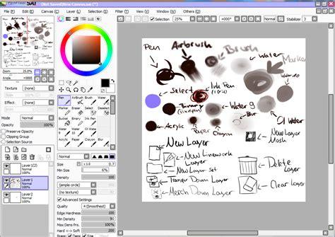 Paint Tool Sai Screenshot By Tenten110 On Deviantart