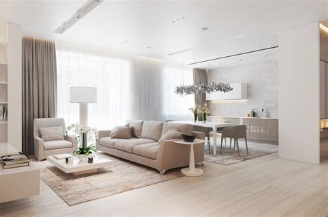 interior lighting for homes a chic pair of interiors with neutral design