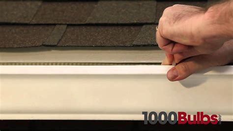 light for gutter guards outdoor light for gutters 28 images how to hang lights