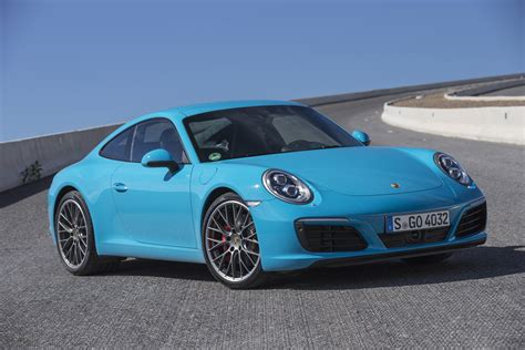Best Car Wallpapers In Color by 2017 Porsche 911 Blue Color Car Wallpaper High Resolution