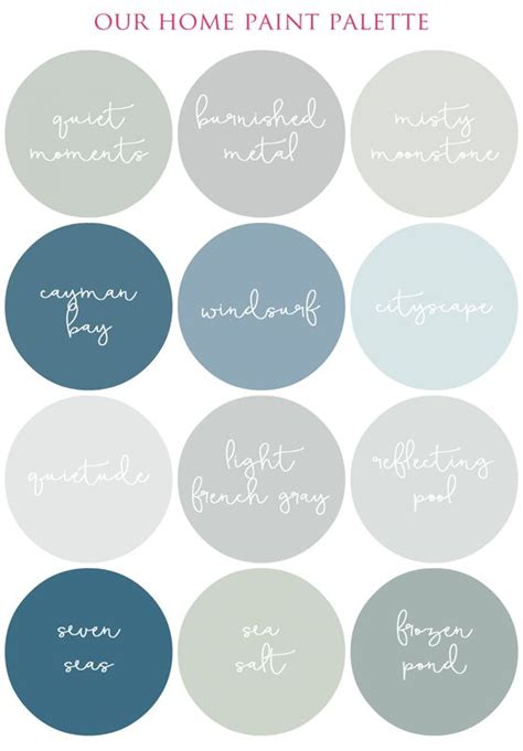 paint colors you can t go wrong with creating a smooth flowing color palette in your home i