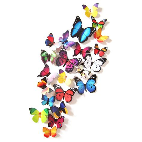3d butterfly stickers for walls aliexpress buy new arrival 24pcs 3d butterfly wall