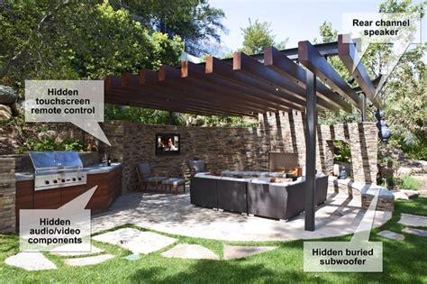 patio sound system design design the outdoor speaker system in just 6 steps