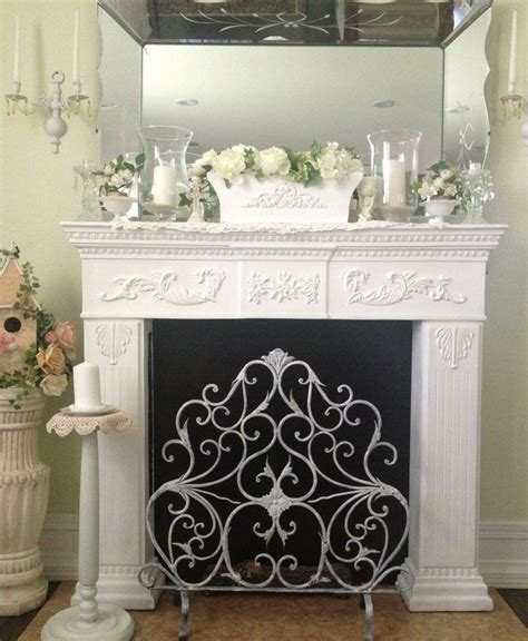 shabby chic mantel decor fireplace mantle shabby chic my beautiful home