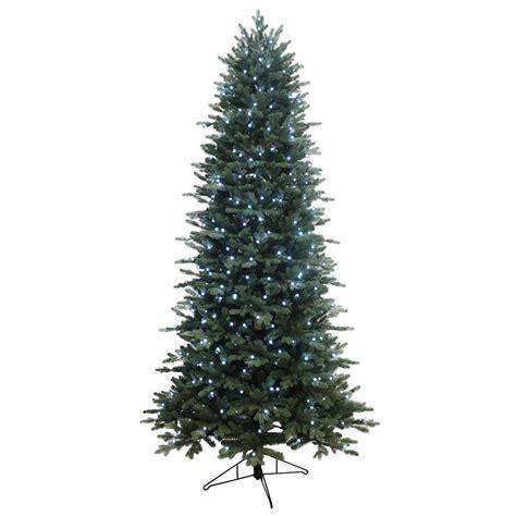 shop ge 7 5 ft pre lit aspen fir artificial tree