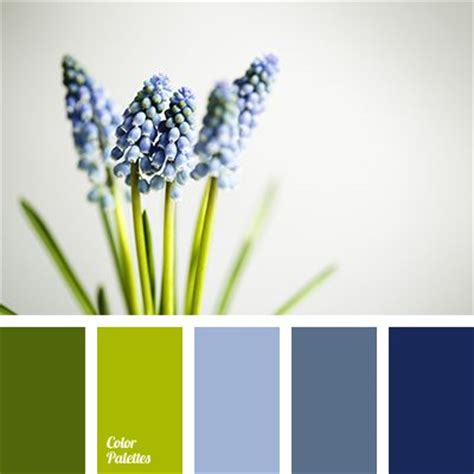 Airy Dark Blue Apple Green Blue Color Palettes Color