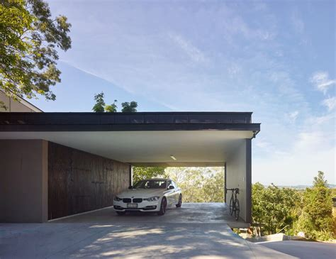 carport design gorgeous use of wood takes this mansion to the next level