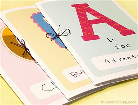 creating picture books printable alphabet book mr printables