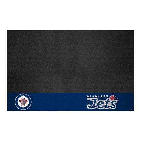 home depot paint winnipeg fanmats winnipeg jets 26 in x 42 in grill mat 14254