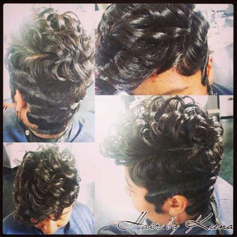 rods and finger wave hair styles cute look finger waves are making a come back