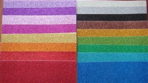 glitter paper craft color glitter paper for craft work and wrapping kt 003