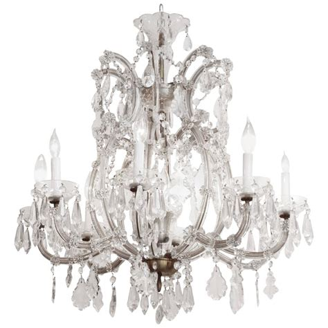 1940s chandelier 1940s therese eight arm chandelier for sale