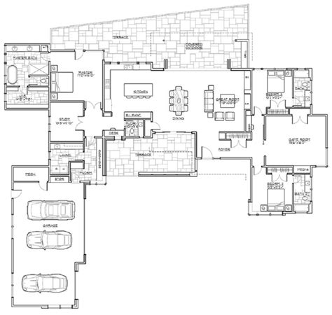 single story house plan 17 best ideas about single story homes on
