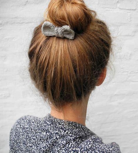 how to knit a hair bow 12 diy summer hair accessories
