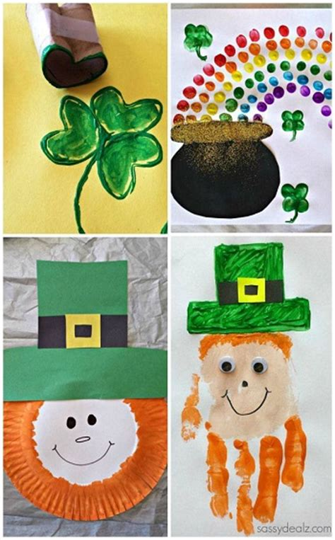 st patricks day crafts easy st s day crafts for crafty morning