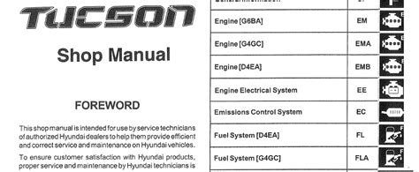 service manual pdf 2006 hyundai tucson workshop manuals 2007 hyundai tucson shop manual hyundai tucson 2006 2007 2008 workshop service repair manual