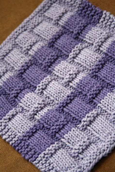 knit dishcloth pattern free unavailable listing on etsy
