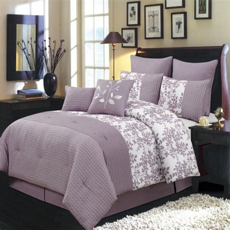 light purple bedding set gray and purple bedding product choices homesfeed