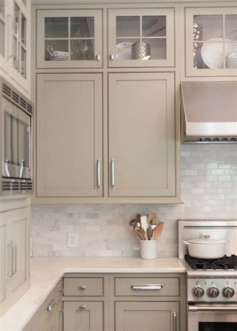 painted kitchen cabinets colors neutral painted cabinets gray greige taupe and gray