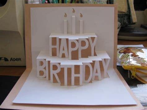 3d card ideas diy birthday card diy course birthday card gwendolen