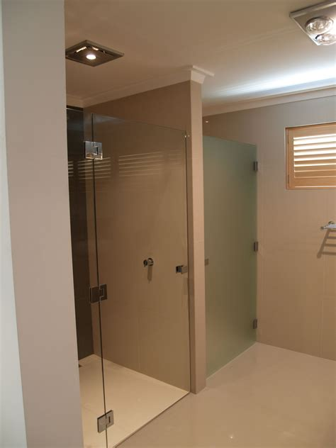 frosted bath shower screens shower screens perth frameless and semi frameless